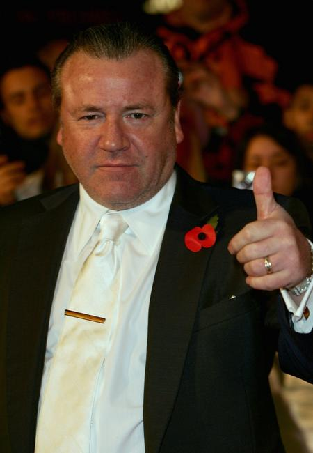 Ray Winstone at the premiere of