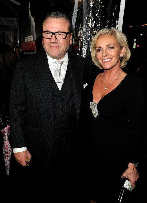 Ray Winstone and Guest at the California premiere of