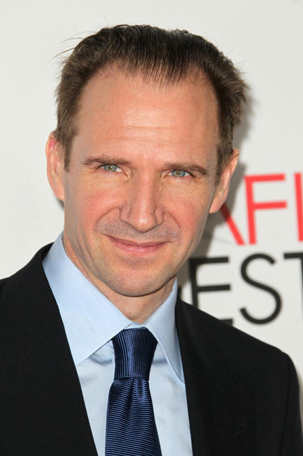 Ralph Fiennes at the California premiere of