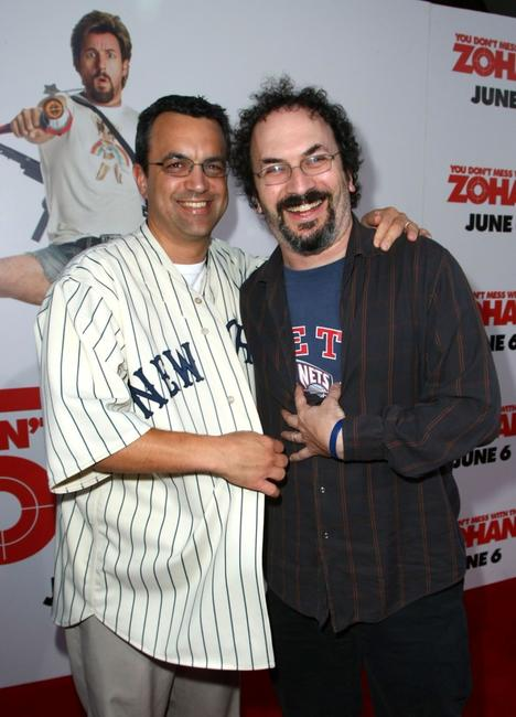 Jack Giarraputo and Robert Smigel at the premiere of