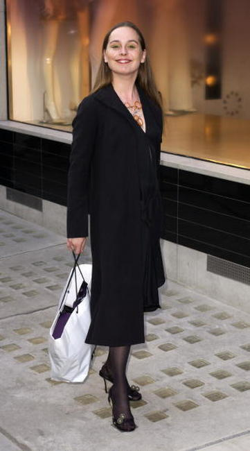 Tara Fitzgerald at the launch party for New Stella McCartney Store.