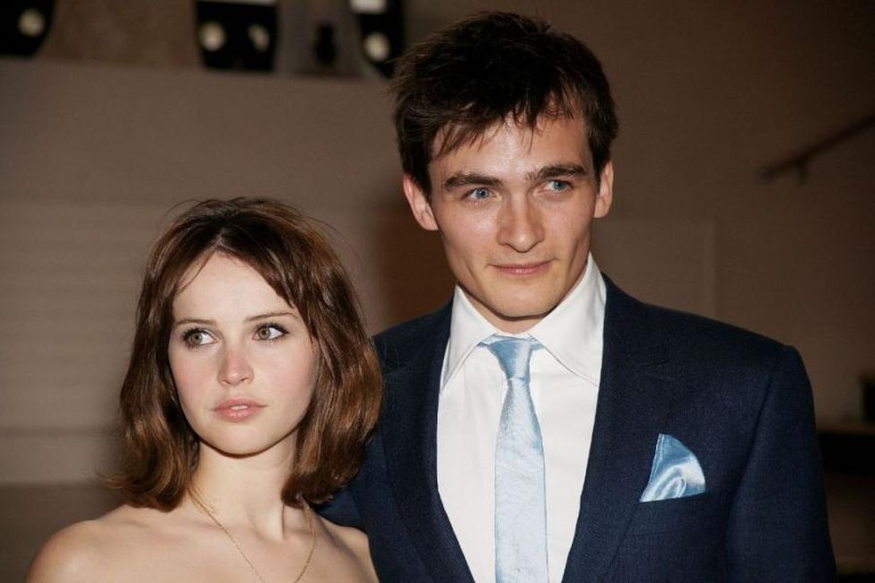 Felicity Jones and Rupert Friend at the UK premiere of