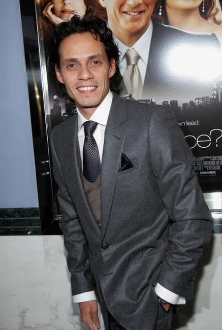 Marc Anthony at the N.Y. premiere of