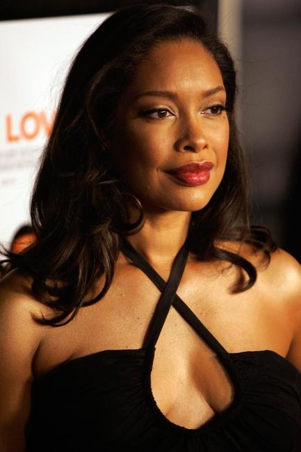 Gina Torres at the premiere of