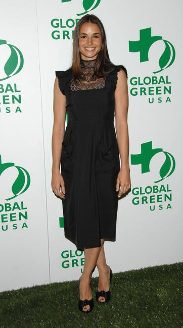 Mia Maestro at the Global Green USA's 5th Annual awards season celebration.