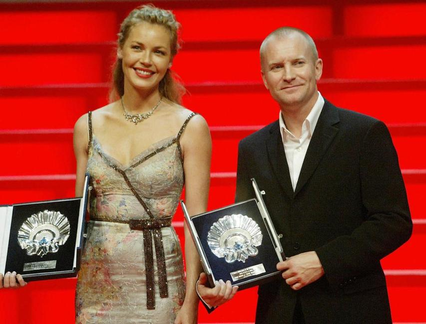 Cinnie Nielsen and Ulrich Thomsen at the 52nd San Sebastian International Film Festival.