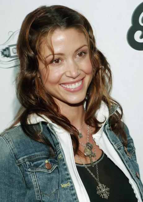 Shannon Elizabeth at the birthday celebration for Fergie of the Black Eyed Peas.
