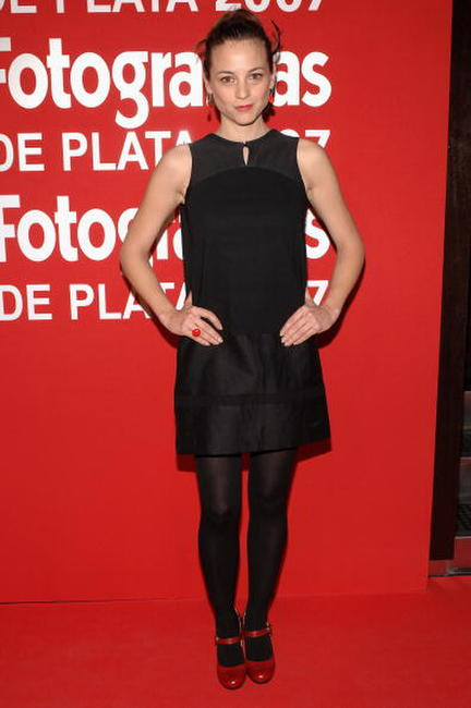 Leonor Watling at the 56th San Sebastian Film Festival Opening Ceremony.