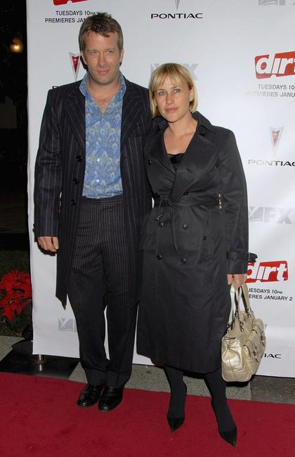 Patricia Arquette and Thomas Jane at the premiere of the