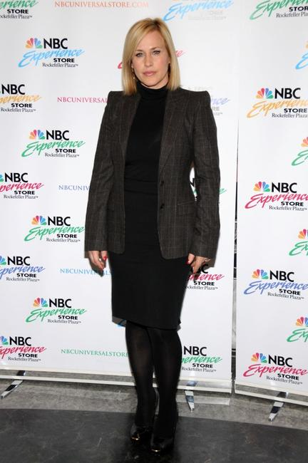 Patricia Arquette at the NBC Experience store.