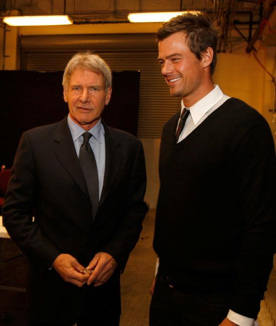 Harrison Ford and Josh Duhamel at a Celebration Of Music In Film