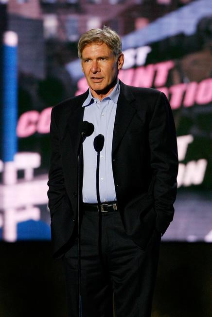 Harrison Ford at the 7th Annual Taurus World Stunt Awards.
