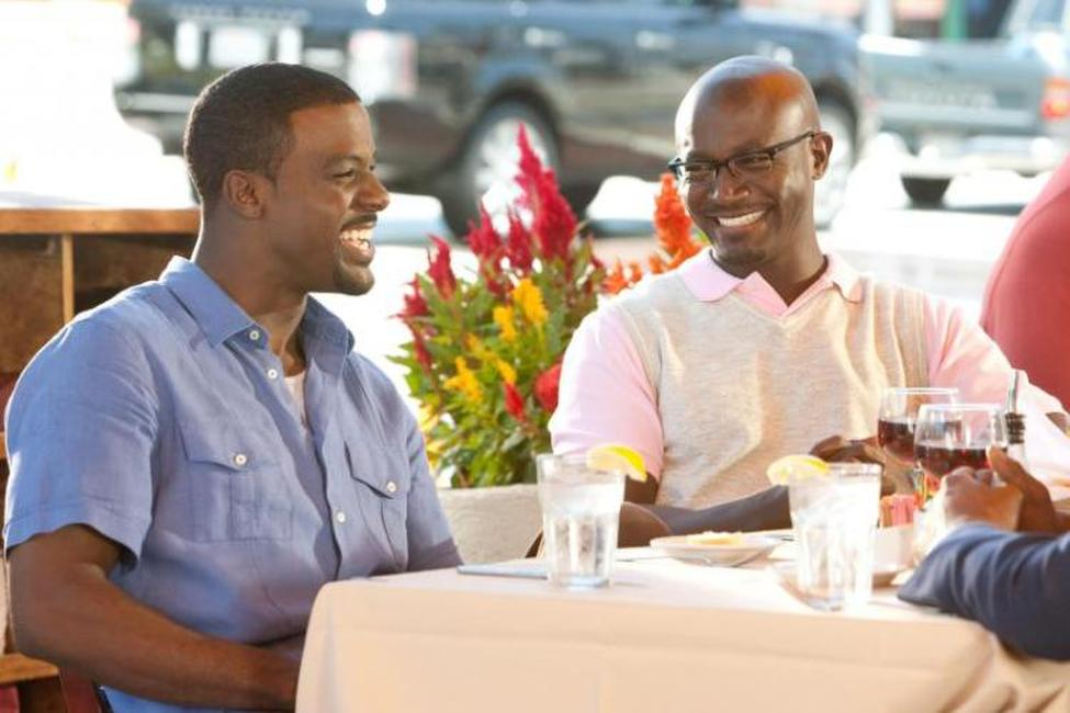 Lance Gross and Taye Diggs in