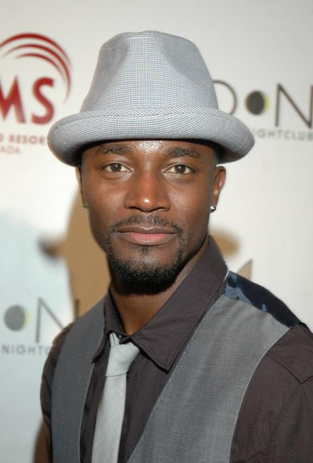 Taye Diggs at the Playboy Club.