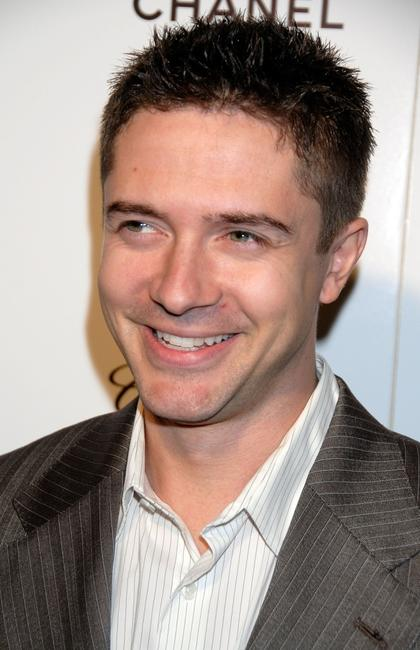 Topher Grace at the Elle's 14th Annual Women in Hollywood party.