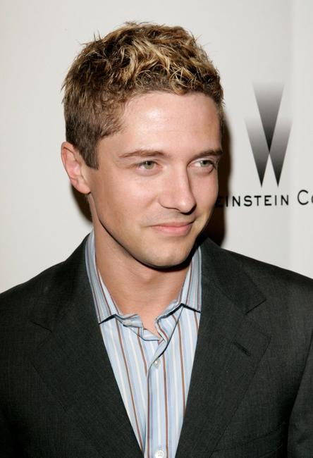 Topher Grace at the Weinstein Co. Golden Globe After Party.