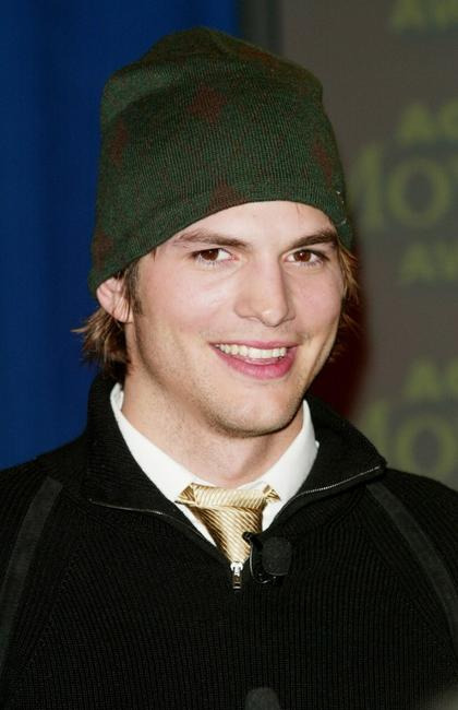 Ashton Kutcher at the nominee announcements of Ninth Annual AOL Moviegoer Awards.