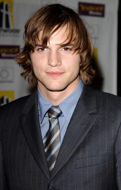 Ashton Kutcher at the Hollywood Film Festival's Gala Ceremony and Hollywood Movie Awards.
