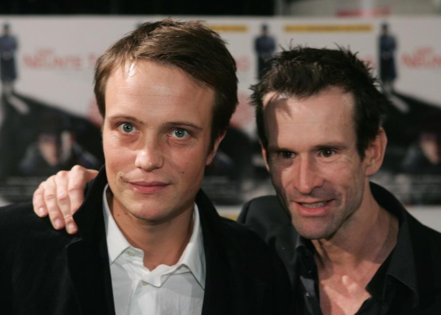 August Diehl and Ulrich Matthes at the world premiere of