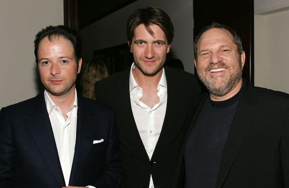 Matthew Vaughn, Guest and Harvey Weinstein at the special screening of
