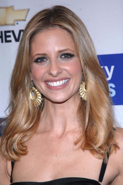 Sarah Michelle Gellar at the Lucky Magazine's Lucky Shops V.I.P. Preview Party.