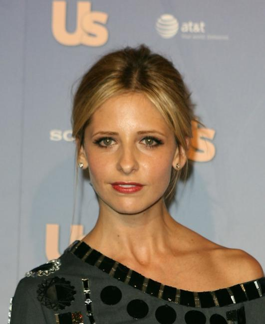 Sarah Michelle Gellar at the Us Weekly Hot Hollywood Party.