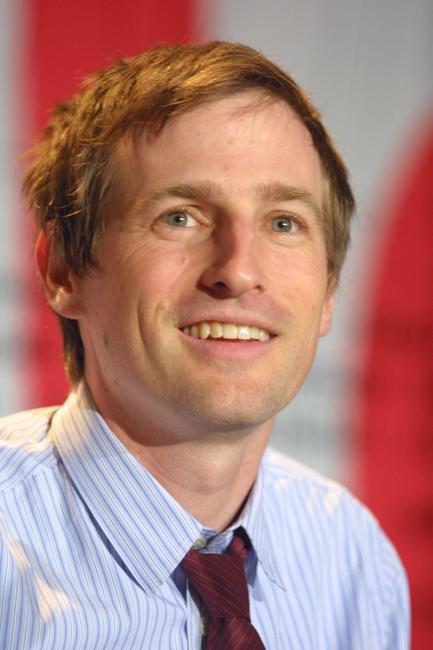 Spike Jonze at a news conference Berlinale Film Festival.