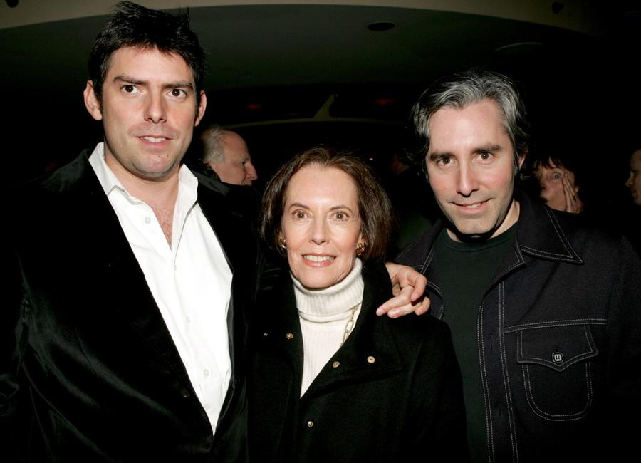 Chris Weitz, Susan Kohner and Paul Weitz at the after party of the opening of