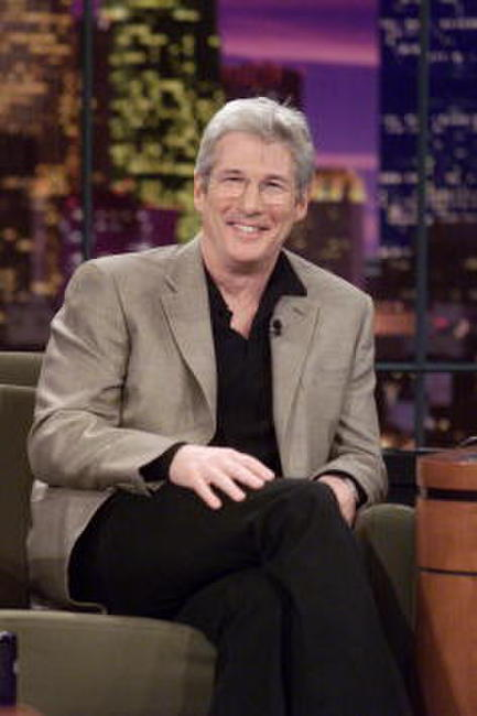 Richard Gere at The Tonight Show with Jay Leno in Burbank, California.