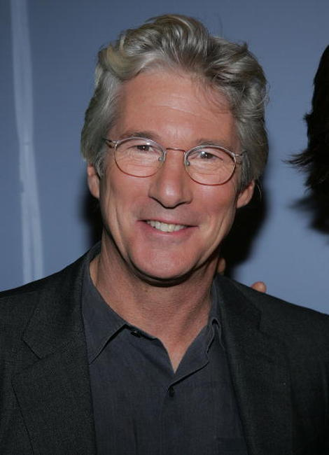 Richard Gere at the premiere of