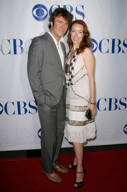 Jack Davenport and Molly Parker at the premiere of