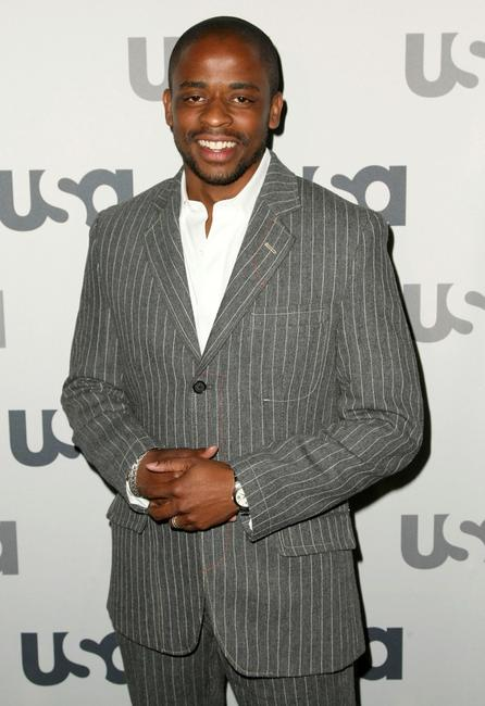 Dule Hill at the USA Network Upfront.