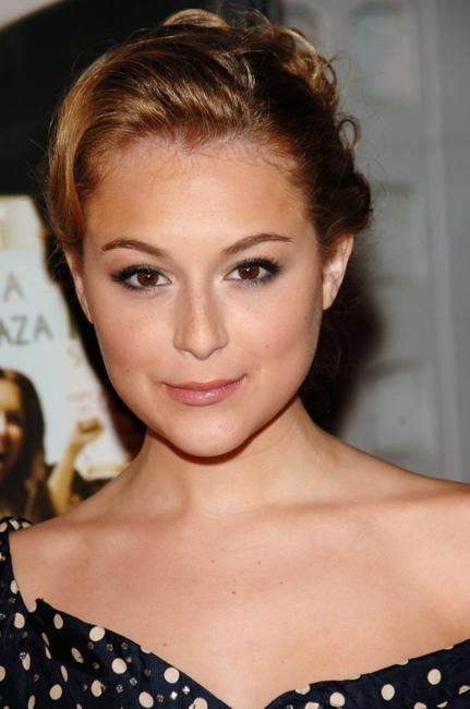 Alexa Vega at the premiere of