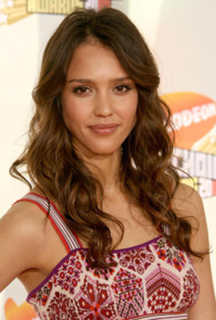 Jessica Alba at the 20th Annual Kid's Choice Awards in California.
