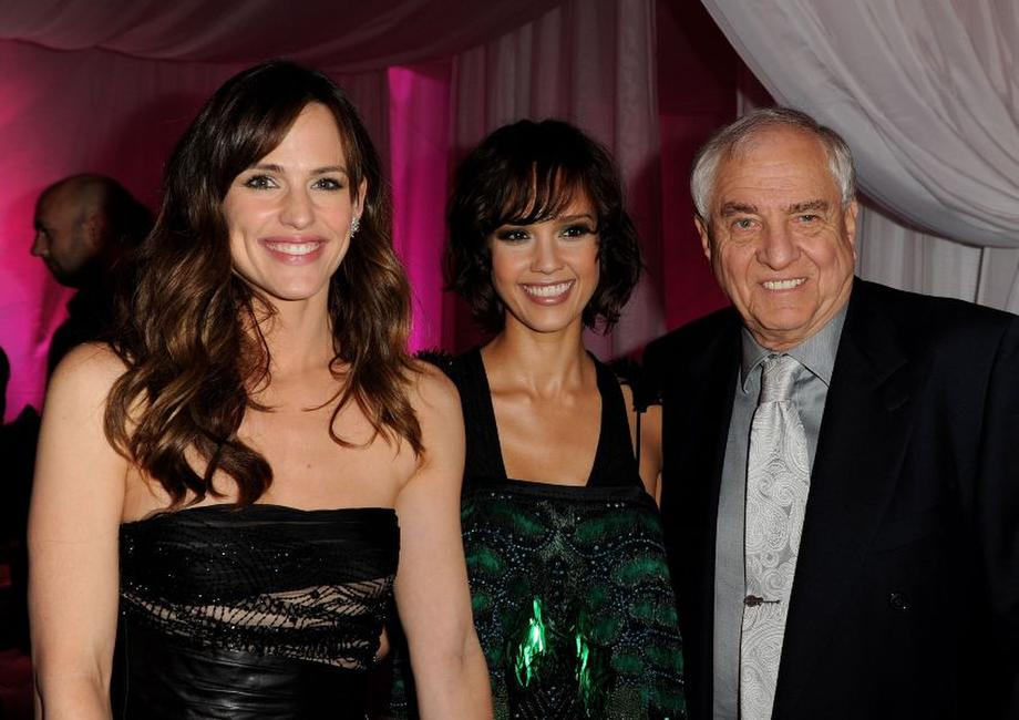 Jennifer Garner, Jessica Alba and Garry Marshall at the after party of the California premiere of