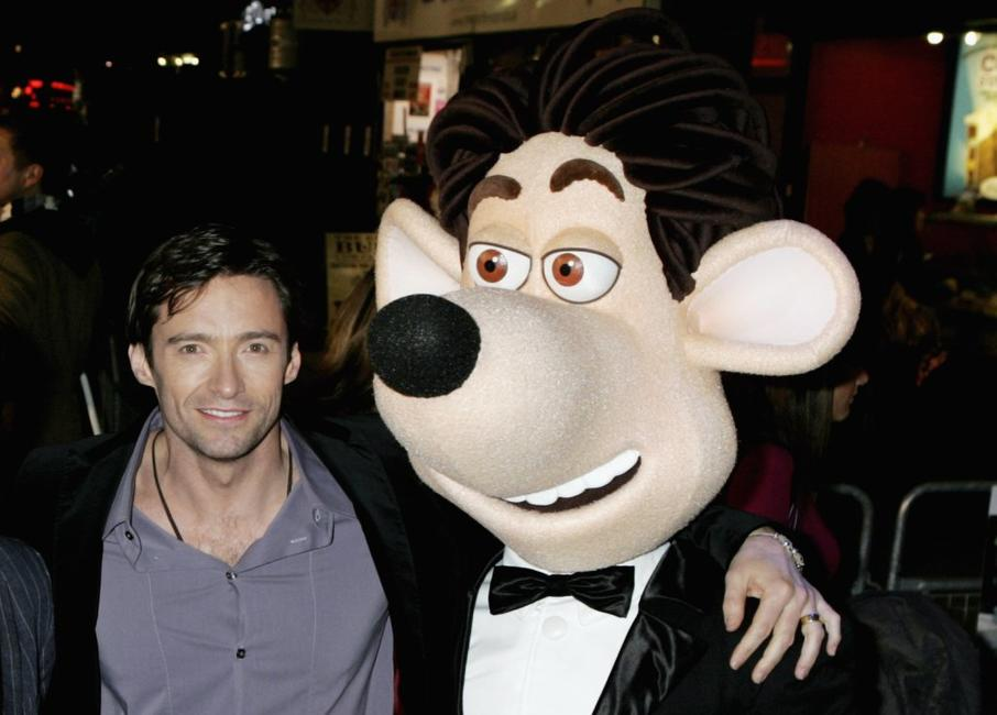Hugh Jackman at the premiere of