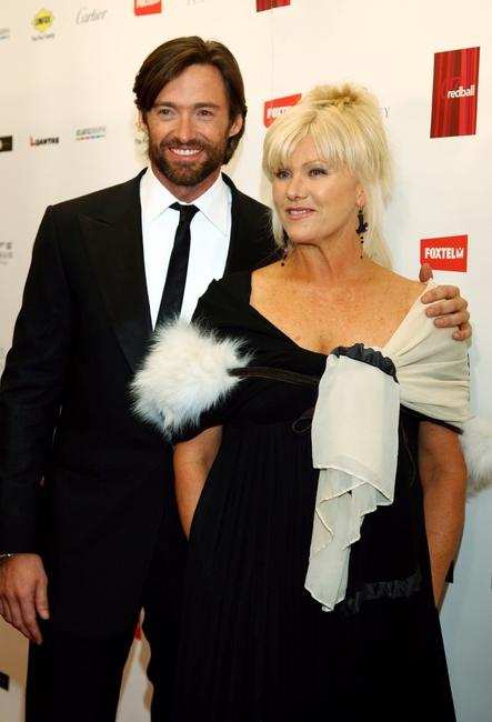 Hugh Jackman and Deborra-Lee Furness at the 2007 Red Ball fundraising event for the Bone Marrow Donor Institute.