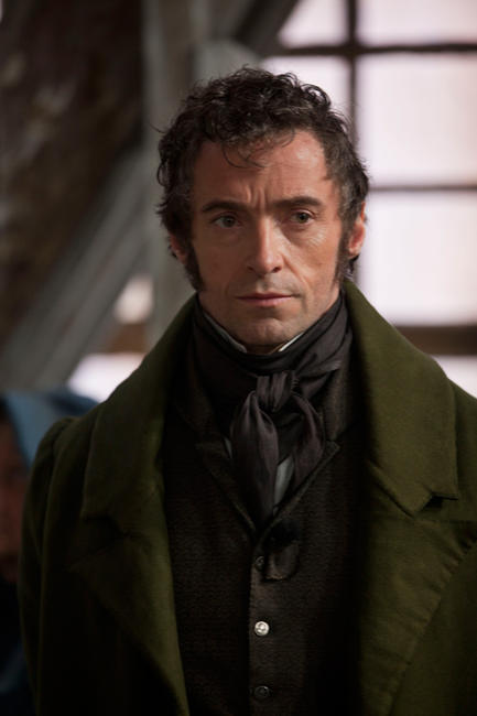 Hugh Jackman as Jean Valjean in