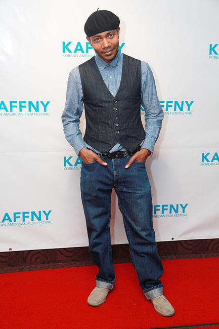 DJ Spooky at the premiere of