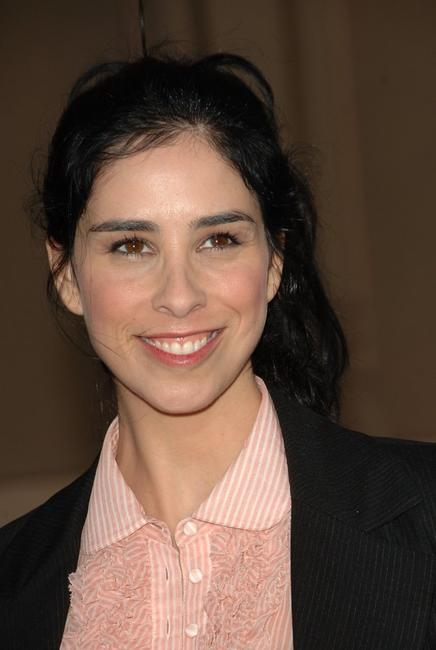 Sarah Silverman at the 2006 American Music Awards.
