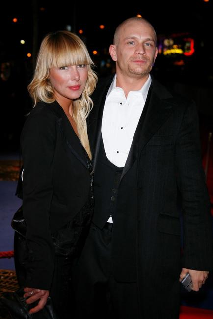 Jeremie Renier and Guest at the 32nd Cesars French Film Awards ceremony.