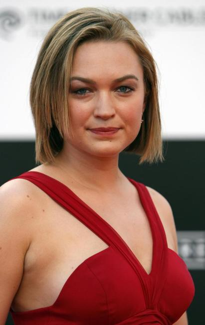 Sophia Myles at the premiere of