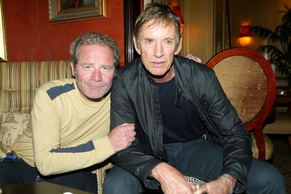 Scott Glenn and Peter Mullan at the afterparty for a special screening of