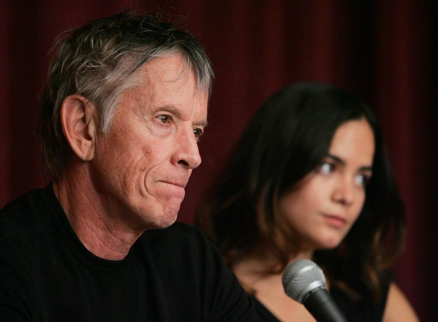 Scott Glenn and Alice Braga at the 5th Annual Tribeca Film Festival press conference of