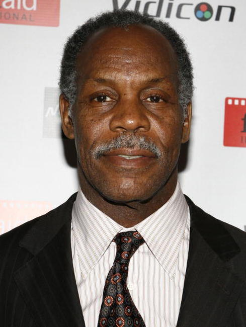 Danny Glover at the Power of Film Gala Benefit FilmAid International in N.Y.
