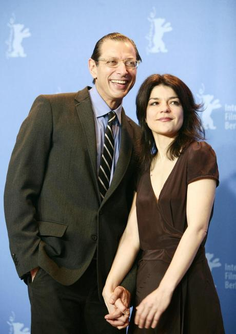 Jeff Goldblum and Jasmin Tabatabai at the 57th Berlinale International Film Festival photocall for