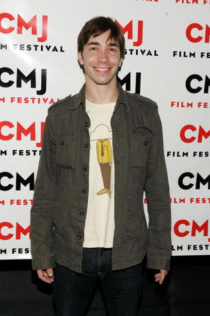 Justin Long at the N.Y. screening of