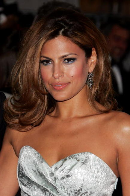 Eva Mendes at the MET Costume Institute Benefit Gala Presents