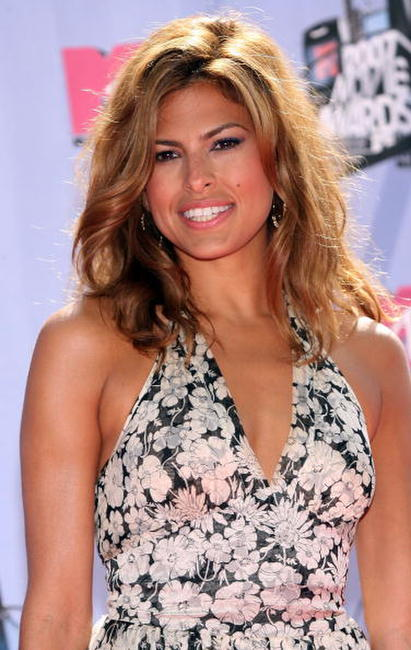 Eva Mendes at the 2007 MTV Movie Awards.