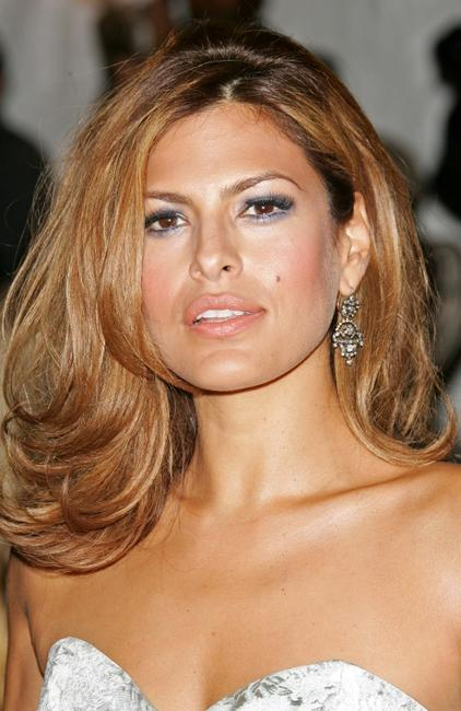 Eva Mendes at the Metropolitan Museum of Art Costume Institute Benefit Gala